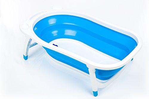 Fillikid CC6600-11 Faltbadewanne Dori, blau (Falt-wand-sitz)