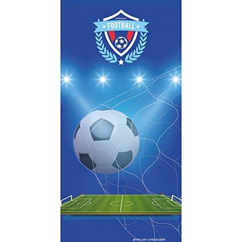 PROMOFLASH83 Serviette de Plage Football 70X140 cm