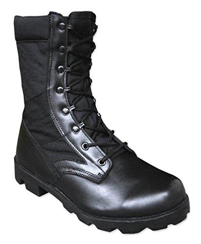 Mil-Tec , Bottes de combat homme - Noir - noir, 45