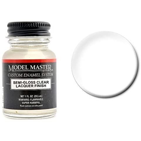 Semi Gloss Clear Lacquer Finish 1 oz. by Testor Corp. - 1 Oz Semi