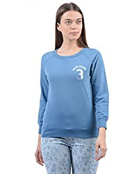 Pepe Jeans Womens Casual Sweat Shirt (_8903872415786_Blue_Medium_)