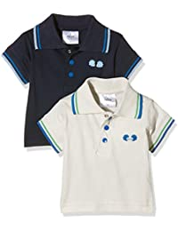 Twins Baby Boys' Polo Shirt, Pack of 2