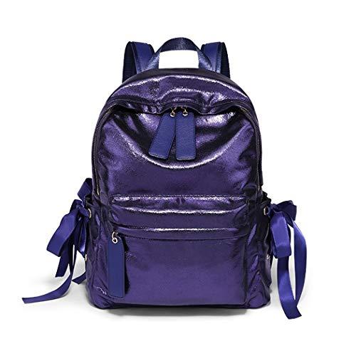 LF Wasserabweisender Multifunktionsrucksack College-Highschool-Schüler-Schultasche Outdoor-Reiserucksack, Laptop-Rucksack für 15-Zoll-Laptop-Tagesrucksäcke schwarz/pink/lila