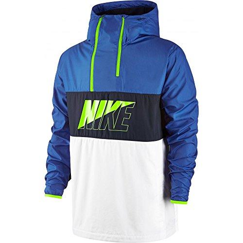 Nike M NSW AV15 JKT HZ WVN HD - Giacca, Blu, M, Uomo