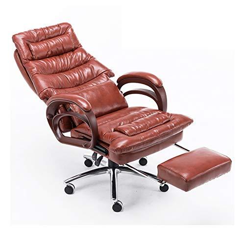 office chair Bürostuhl 360-Grad-Drehung kann angehoben und abgesenkt Taillen-Massage-Kurve Handlauf mit Fuß Computer Stuhl Chef Stuhl multifunktionale Stuhl gesenkt Werden - Office Massage Chair