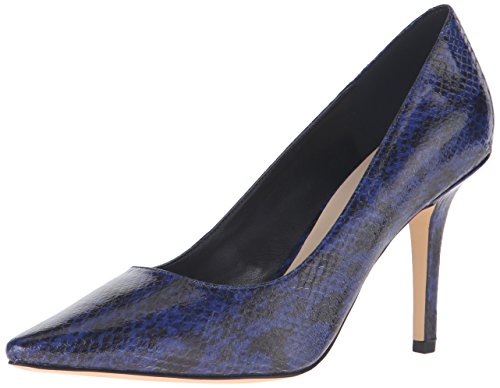 Nine West Jackpot Pump Robe synthétique Blue Python