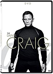 007: Daniel Craig as James Bond - 4 Movies Collection - Casino Royale + Quantum of Solace + Skyfall + Spectre