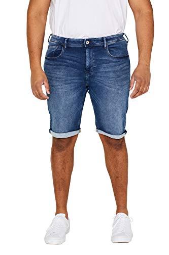 ESPRIT Herren Shorts 039EE2C014, Blau (Blue Medium Wash 902), Gr. 42