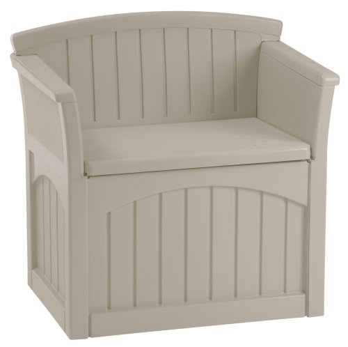 Plastic garden bench with storage uk for Outdoor plastic bench seats