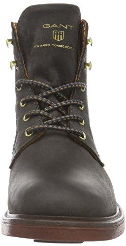 GANT Damen Ashley Combat Boots Grau (Dark gray G86)