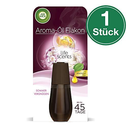 Air Wick Aroma-Öl Flakon Sommervergnügen, Nachfüller für Diffuser, 1er Pack (1 x 20 ml) -