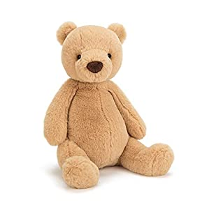 Jelly Cat- Oso Peluche Extrasuave, Color marrón (Jellycat PUF2B)