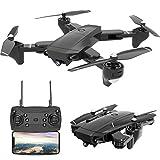 KAIFH Drone Ripresa Aerea Grandangolare 720P Drone Fotografia Aerea Telecomando...