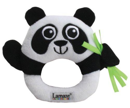 Lamaze Contrast Panda Rattle