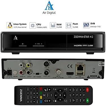 ZGemma Star H2 Combo DVB-S - DVB-T2 Enigma2