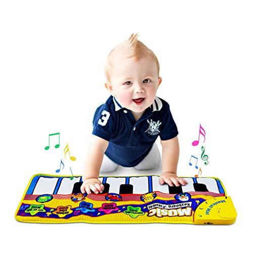 Shayson Tapis Musical Bébé,Tapis de Musique Piano Bébé...