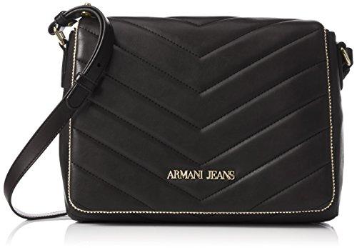 Armani - 9221596A718, Borsa a tracolla Donna Nero (Schwarz (NERO 00020))