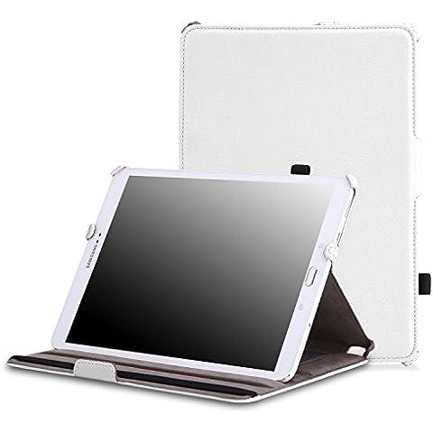 MoKo Samsung Galaxy Tab S2 9.7 Funda - Slim-Fit Función de Soporte Foltable SmartCover Case (Auto Sueño / Estela) para Samsung Galaxy Tab S2 9.7 (SM-T815) Android 5.0 2015 Version,