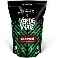 Yerba Verde Mate Tostada 500g | Verde Mate Toasted | Yerba Mate de Brasil | Alta calidad | Yerba mate fuertemente estimulante | Sin gluten