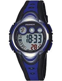 Reloj electrónico / reloj de los niños / impermeable / reloj de los deportes / reloj corriente , deep blue