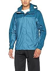 Marmot Herren Precip Jacket Regenjacke, Slate Blue/Moroccan Blue, S