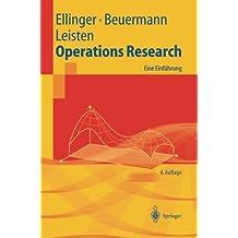 Operations Research: Eine Einführung (Springer-Lehrbuch)