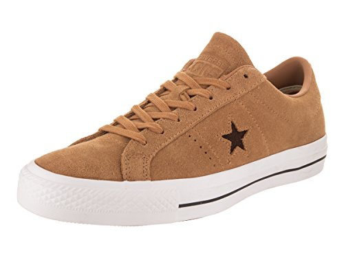 bb5e60381cc Converse One Star Pro Unisex Raw Sugar Dark Clove-10uk