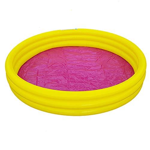 Unbekannt Kinder Planschbecken Jumbo Pool Rund 170 cm Swimmingpool Schwimmbecken Gelb | Garten > Swimmingpools > Schwimmbecken | Sand | Unbekannt