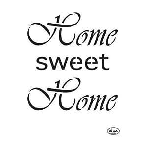 Viva Decor Home sweet Home Universalschablone 21x29,7 cm