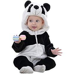 FuMian Bebé Recién Nacido Muchachos de Las niñas Mameluco Espesar Traje para la Nieve Otoño Invierno Infantil Buzos Equipar