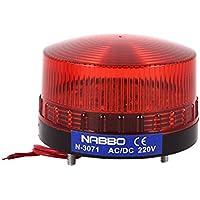 AC 220 V Red LED Industrie Warnung Signal Tower Light Leuchtmittel Lampe N-3071