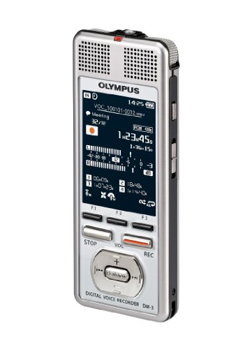 Cheapest Olympus DM-3 4 GB Digital Voice Recorder Discount