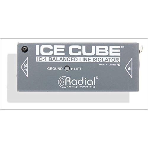 IC-1 Ice Cube Balanced Line Isolator - Ic-line