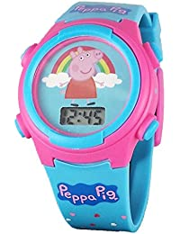 Peppa Pig Kid 's Digital reloj con luz Up función
