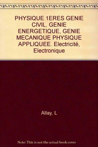 Physique appliquée, 1res génie civil 1993