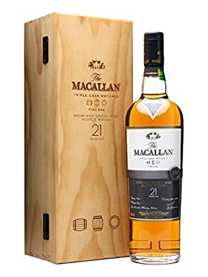 The Macallan 21 Year Old Fine Oak Finish Single Malt Scotch Whisky (2 x 70cl Bottles)