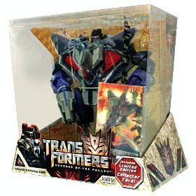 TRANSFORMERS - SKYWARP (DECEPTICON) incl. Limited Edition Collector 3D Karte - VOYAGER CLASS - REVENGE OF THE FALLEN - HASBRO (Spielzeug-flugzeug F22)