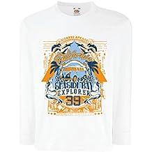 lepni.me Camiseta para Niño/Niña Primer Día de California - Explorador de la