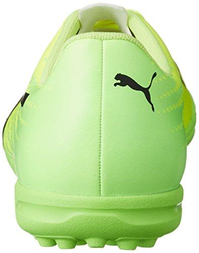 Puma Evospeed 17.5 Tt, Chaussures de Football Homme Jaune (Safety Yellow-puma Black-green Gecko 01)
