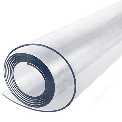 Protector mesa plástico transparente resistente 2