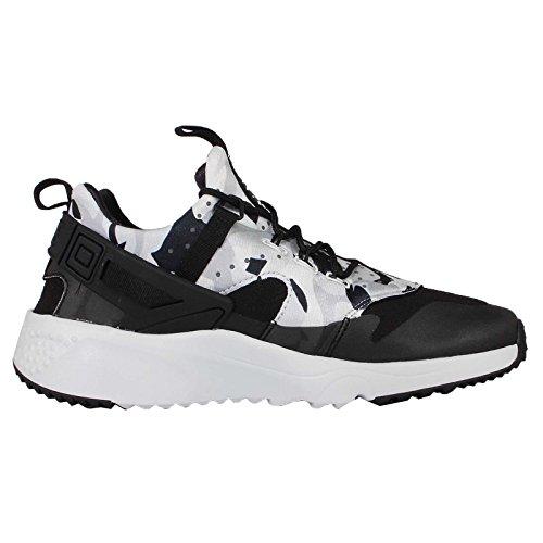 Nike Mens Air Huarache Utility Scarpe Da Corsa, Nero, 44 eu Grigio / Argento (pr Pltnm / Blk-drk Gry-wlf Gry)