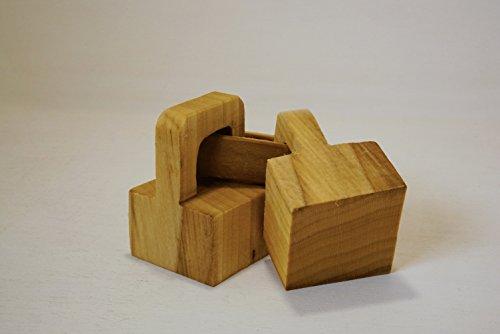 Timbro del pane matera - mod. catena in legno di tiglio interamente scolpito a mano