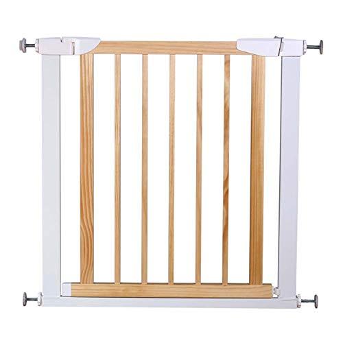 Rziioo Pet & Baby Gate Narrow Extra Wide, Sicherheits-Durchgangstor für Metall- und Holztreppen, druckmontiert,G -
