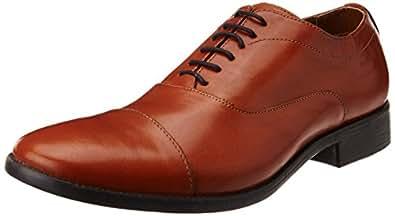 Ruosh Men's MWS - 92 - 03 Tan Leather Formal Shoes - 11 UK/India (45 EU)(12 US)