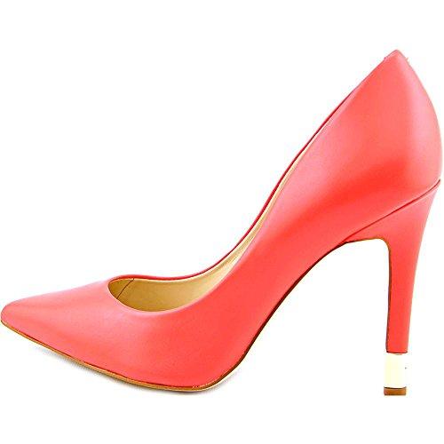 Indovinate Babbitta Shoes Medium Red Leather