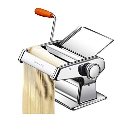 XUE-1 - Máquina Hacer Pasta Piel Wonton, Color Plateado