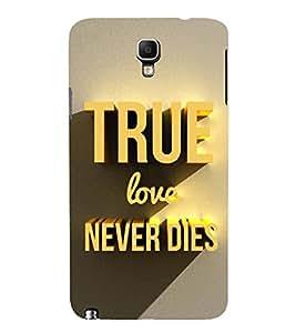 FUSON True Love Forever 3D Hard Polycarbonate Designer Back Case Cover for Samsung Galaxy Note 3 :: Samsung Galaxy Note Iii :: Samsung Galaxy Note 3 N9002 :: Samsung Galaxy Note 3 N9000 N9005