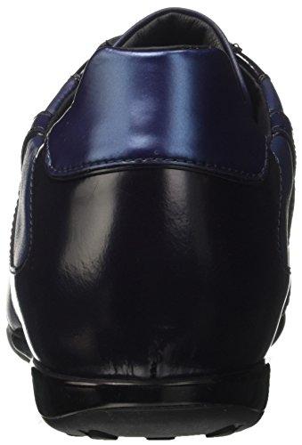 Bikkembergs R-Evolution 926, Sneaker a Collo Basso Uomo Blu (Navy)