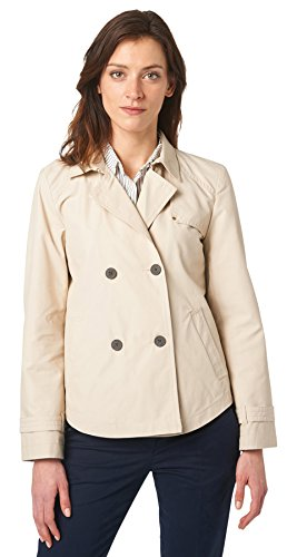 Tom Stretch für Frauen Jacket kurzer Trenchcoat light breeze XL