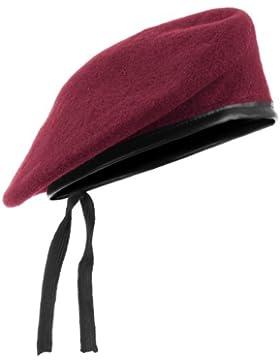Mil-Tec Beret Roja Tamaño 58